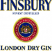 Finsbury London Dry Gin (Англия) 1740