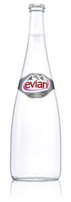 Evian (glass bottle)