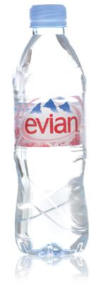 Evian (plastic bottle)