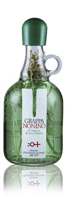 Отобранные выжимки с фриуланских виноградни- ков, трава рута выращива- ется в угодьях семьи Нони- но. Аффинаж от шести ме- сяцев до одного года в ем- костях из нержавеющей стали.