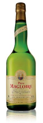 Компания Пер Маглуар – это один из старейших зарегистрированных производителей кальвадоса. Напиток бледного янтарно-желтого цвета, с отличным фруктовым ароматом и яблочным вкусом.