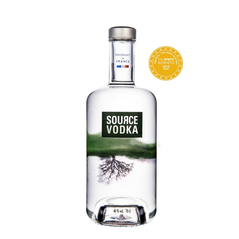 SOURCE Vodka - Vodka Masters 2016 - premium - gold